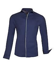 Рубашка мужская Lui синяя