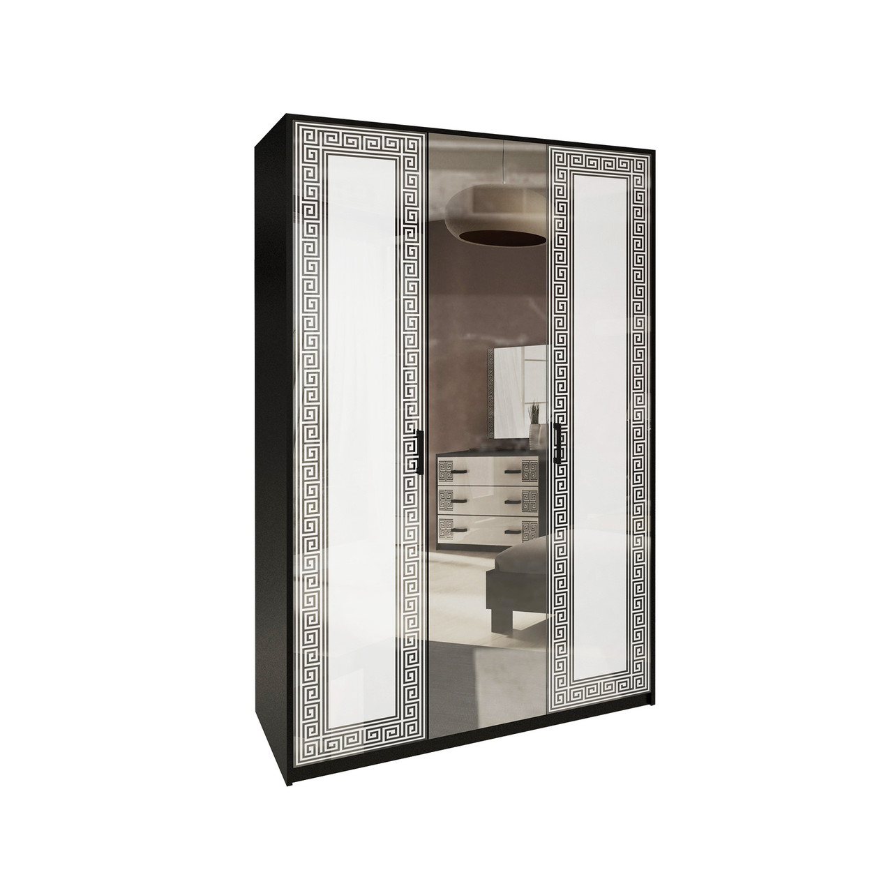 Шафа (шкаф) з ДСП/МДФ в спальню/вітальню/дитячу Віола 3Д Миро-Марк