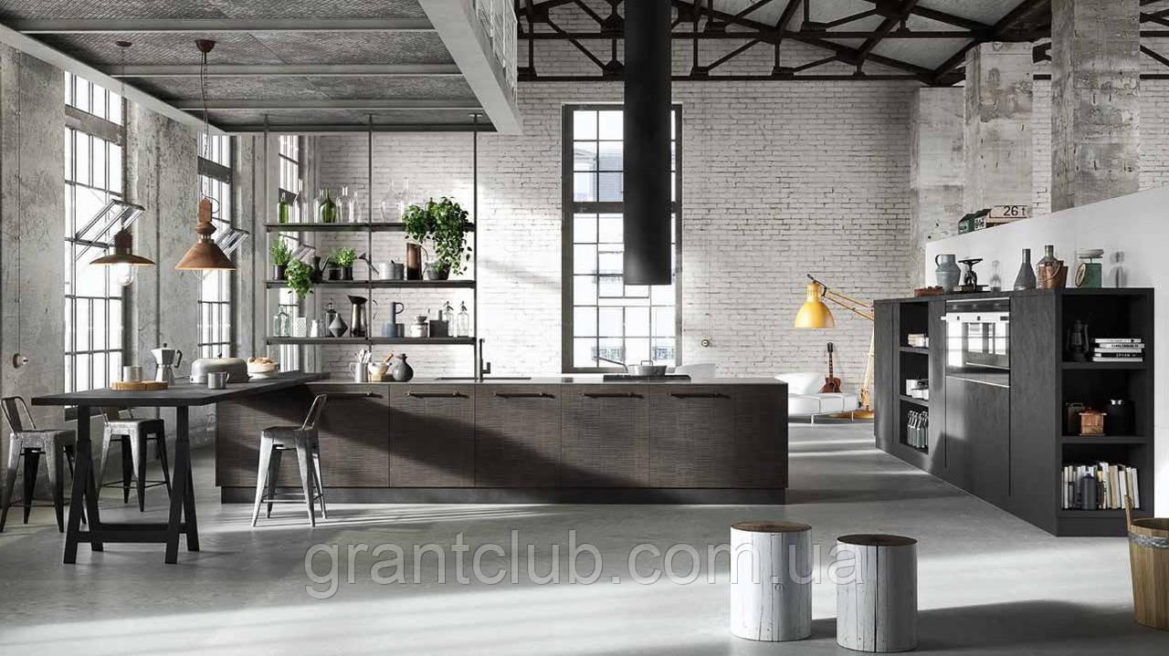 Деревянная кухня в стиле лофт TRAMA фабрика AR-TRE (Италия)