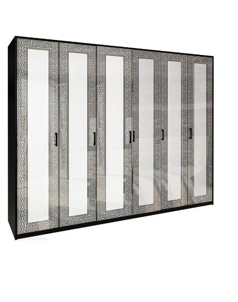 Шафа (шкаф) з ДСП/МДФ в спальню/вітальню/дитячу Віола 6Д без дзеркал Миро-Марк