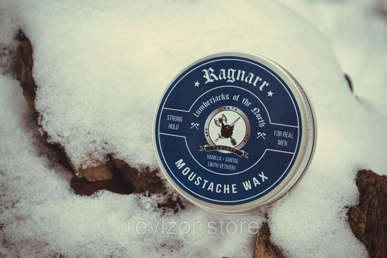 Воск для бороды и усов сильной фиксации Lumberjaсks of the North - Ragnarr 60мл, фото 1
