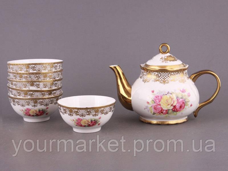 Набор чайный Букет роз 7 пр Lefard 723-013