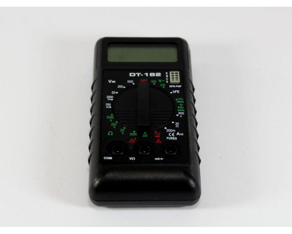 Цифровий мультиметр тестер DT-182
