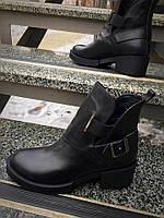 Стильные ботинки Diezzzl.Натуральная кожа/замш,внутри набивная шерсть.Каблук 4.5см, Р-р 36-40. Цвета в ассорти