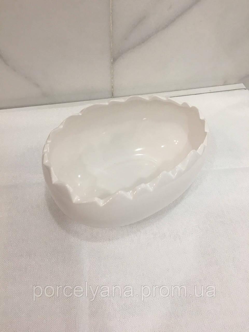 Керамическая салатница скорлупа 23 см Ewax