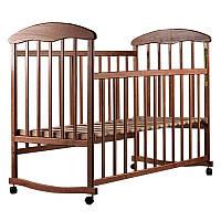 Детская кроватка Наталка 2 Ясень светлый и темный