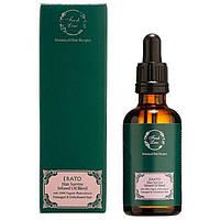 Botanical Hair Remedies. TERPSICHORE Восстанавливающее 100% органическое масло для поврежденных и обезвоженных волос, Объем - 50