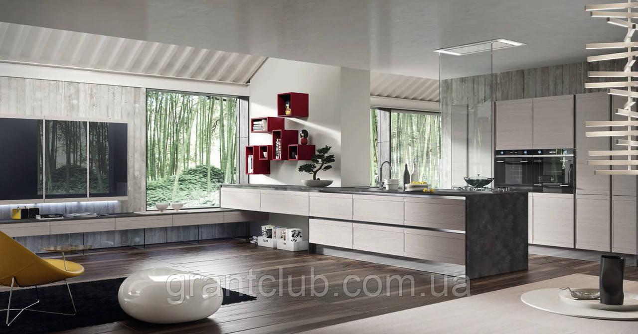 Современная кухня из натурального дерева ZOE фабрика AR-TRE (Италия)