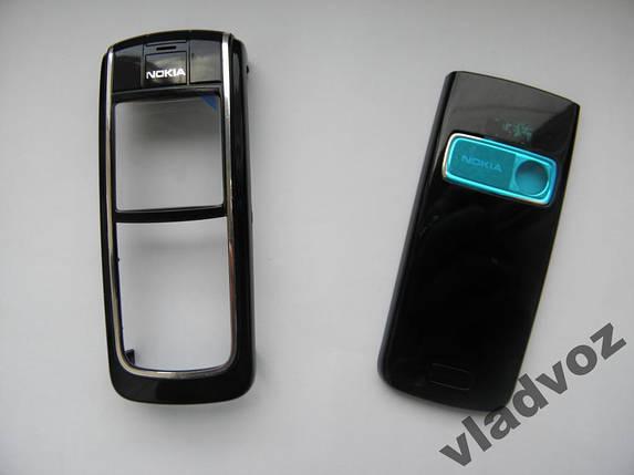 Корпус для Nokia 6020 черный недорогой, фото 2
