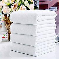 60x30см белый мягкий хлопок полотенце абсорбент путешествия тренажерный зал кемпинг спорт полотенце