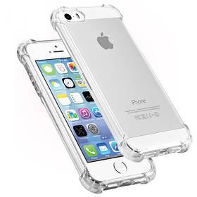 ВоздухСумкаУльтратонкийПрозрачныйударопрочный Soft TPU Чехол для iPhone55SSE 1TopShop