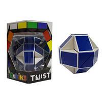 """Головоломка RUBIK""""S - Змейка (бело-голубая) ТМ Rubik""""s RBL808-1"""