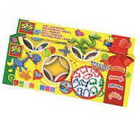 Набор для лепки - ПРАЗДНИЧНЫЙ (8 цветов, формы) для детей от 3 лет ТМ Ses Creative 0498S