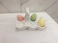 Блюдо для яиц 6 шт с зайцем Ewax 100207