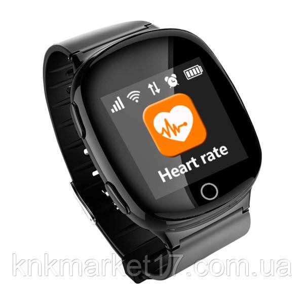 Smart baby watch S200 (D100) black пульсометр