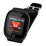 Smart baby watch S200 (D100) black пульсометр, фото 3