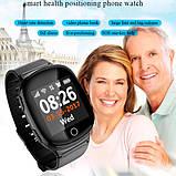 Smart baby watch S200 (D100) black пульсометр, фото 4