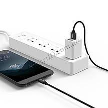 Кабель Micro USB Orico MTF-10 для зарядки и передачи данных (Черный, 1м), фото 3
