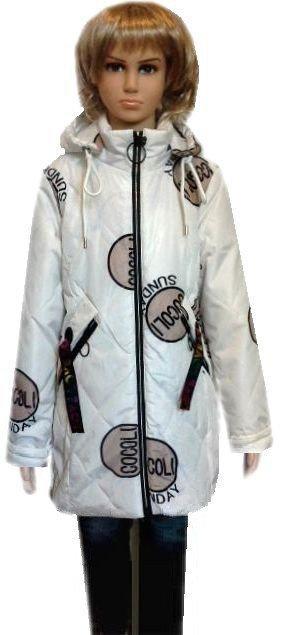 Стильная модная куртка парка для девочек 10-16 лет