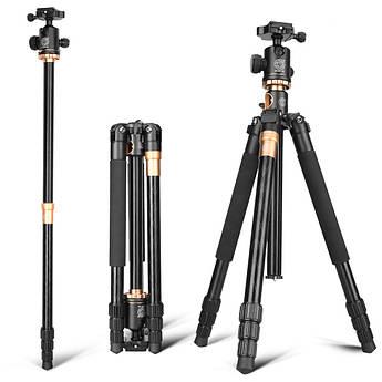 Штатив с моноподом QZSD для фотоаппаратов Q-999H с головкой QZSD-02