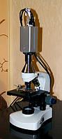 Профессиональный микроскоп с камерой высокого разрешения, цифровые системы визуализации в микропии