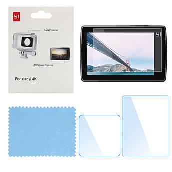 Защитная пленка для экшн-камеры XIAOMI YI II 4K, 4K Plus, YI Lite (2 шт.) (код № XTGP344)
