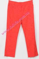 Нарядные красные брюки большого размера