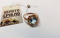 Золотое кольцо. Размер 18,5. Вес 4,16 грамм. Комиссионное, б/у.