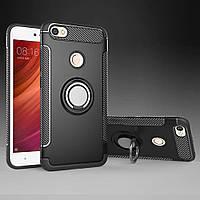 Чехол для Xiaomi Redmi Note 5A Pro, с магнитной пластиной, RM Armor, черный