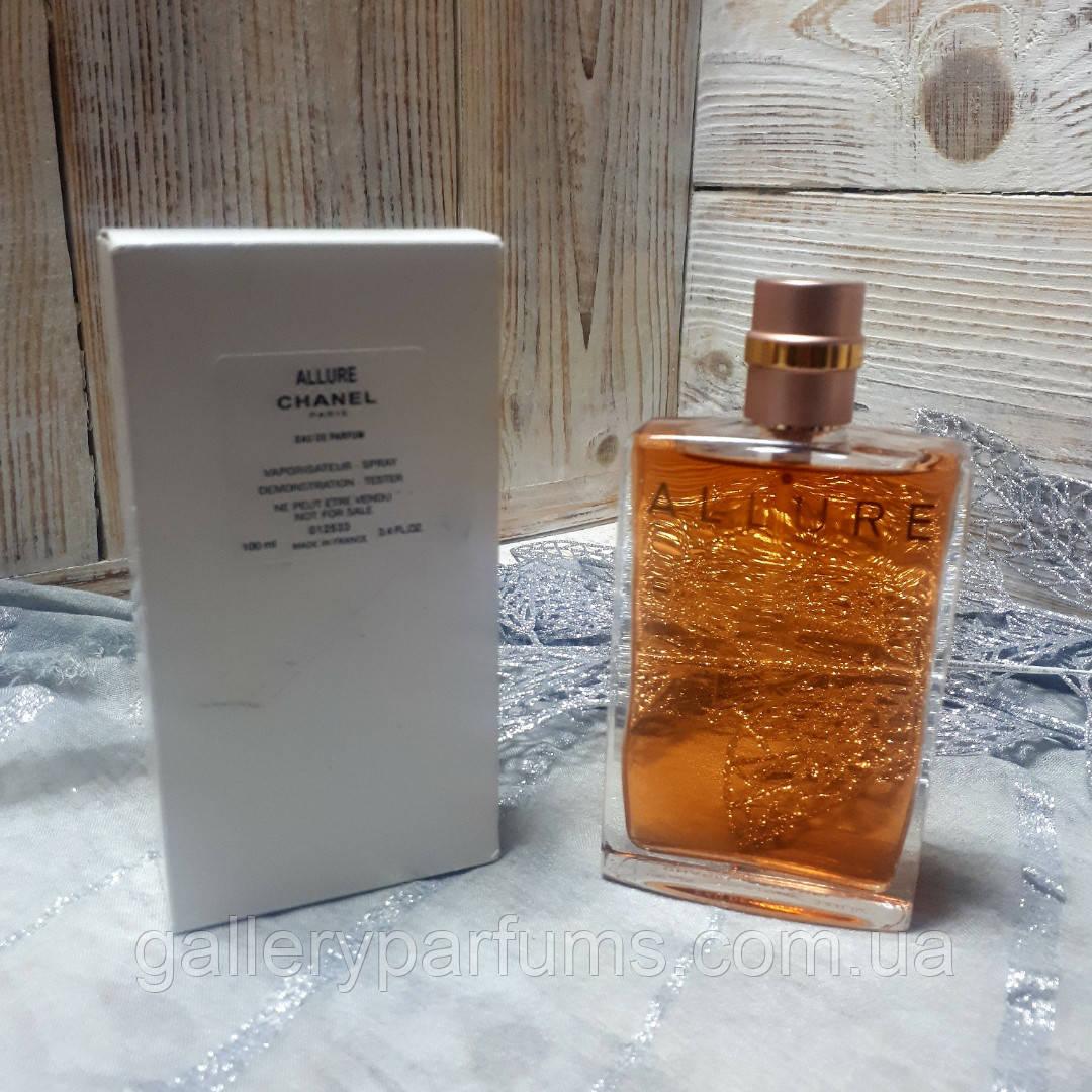 духи тестер Chanel Allure Eau De Parfum Vaporisateur Spray 100ml