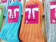 Носки женские узорная вязка 100 % хлопок 23 р. опт от 6 пар - 7.50, фото 1