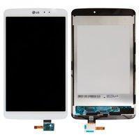 Дисплей (экран) для планшета LG V500 G Pad 8.3 с сенсором (тачскрином) белый Оригинал