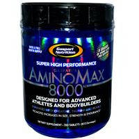 Комсплекс аминокислот, Gaspari Nutrition, Амино Макс 8000, 350 таблеток