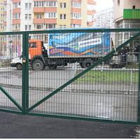 Ворота из сварной сетки (высота - 1,50 м., ширина - 4,00 м.)