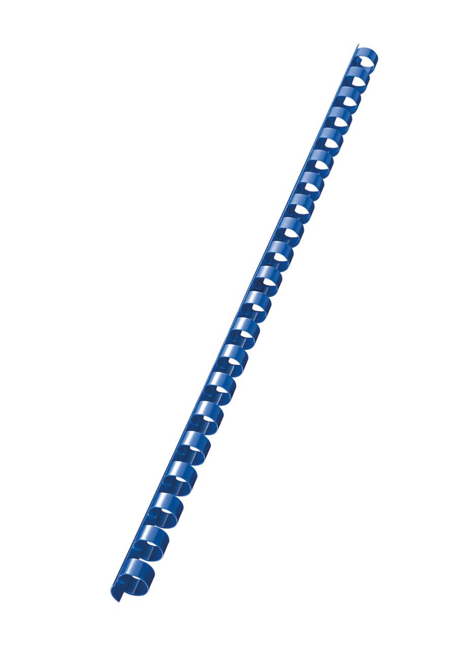 Пружина пластиковая 10мм син