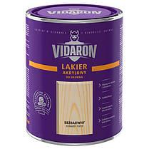 Vidaron Зовнішній лак для деревини безбарвний (сатиновий глянець) 1л. Код УКТ ЗЕД 3208109090