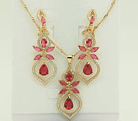 Элитные украшения комплекты женской бижутерии Swarovski. 229