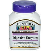 21st Century, Пищеварительные ферменты, 60 капсул