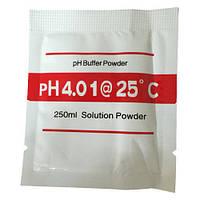 Калибровочный раствор для ph метра - pH 4.01 ( стандарт-титр ) Порошок на 250 мл.