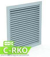 Решетка нерегулируемая для квадратных каналов KP-RKO-80-80