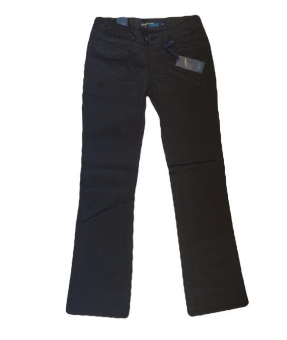 Женские джинсы OMAT 9256 черные