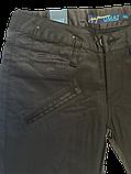 Женские джинсы OMAT 9256 черные, фото 2