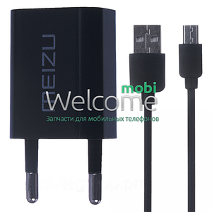 СЗУ Meizu 2in1 (adap+cab) 2,0A black