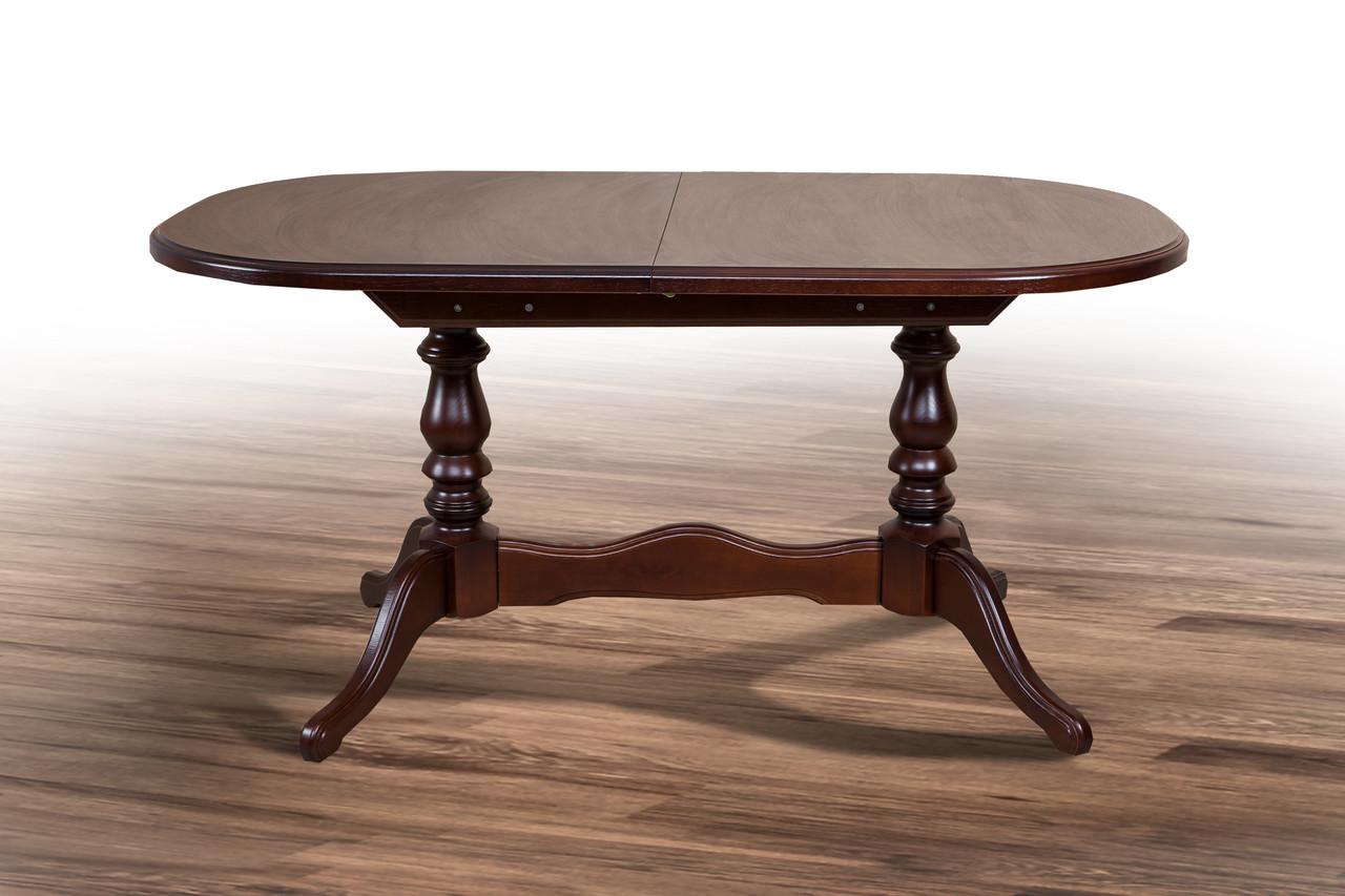 Стол обеденный Вавилон темный орех (Микс-Мебель ТМ)