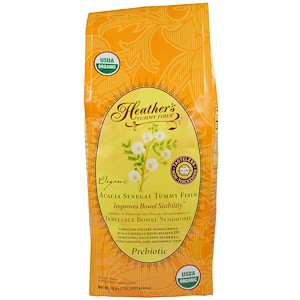 Heather's Tummy Care, Органическая растворимая клетчатка сенегальской акации, 16 унций (453 г)