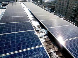 Днепр сетевая солнечная электростанция для офиса 6.7 кВт Fronius Днепропетровская обл.