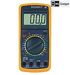 Мультиметр (тестер) цифровой DT-9208A, фото 2