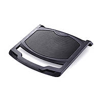"""Подставка для ноутбука до 15,6"""" Deepcool N200, металл.сетка, 342х252х25мм, 1х12см вентилятор"""