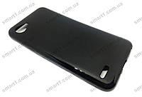 Силиконовый TPU чехол JOY для LG Q6 черный