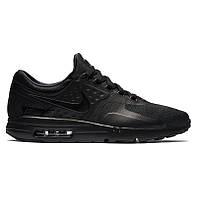 Мужские кроссовки Nike Air Max Zero Black (реплика)